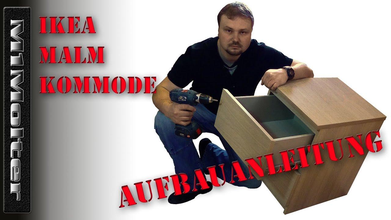 IKEA MALM Kommode - Aufbauanleitung von M1Molter - YouTube