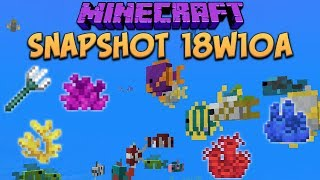 One of xisumavoid's most viewed videos: Minecraft 1.13 Snapshot 18w10a Tropical Fish! Map Markers & Buried Treasure! (Update Aquatic)