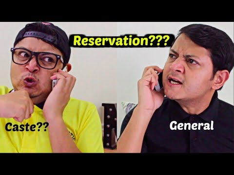 """General Category ke """"JAWAAN LAUNDEY"""" : Reservation System in India"""