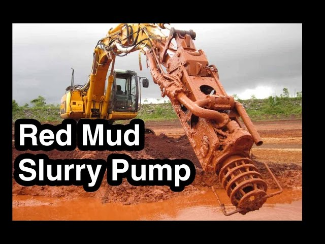 Slurry Pump Moving Red Mud (41% Solids) - EDDY Pump