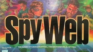 Ep. 34: Spy Web Board Game Review (Parker Brothers 1996)