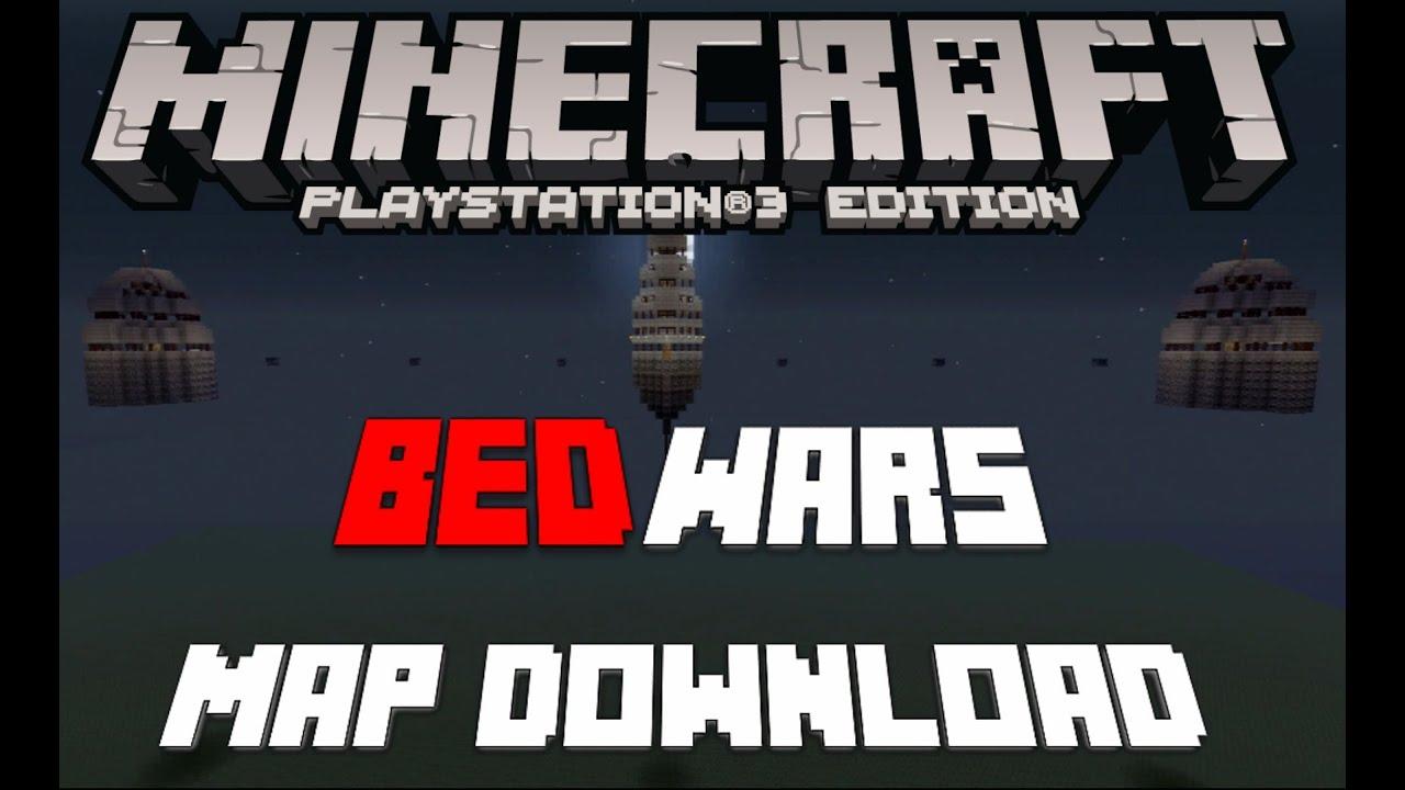 Minecraft PSPS Bed Wars Map Download All Versions YouTube - Minecraft ps3 server erstellen deutsch