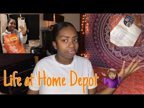 What Its Like Working At Home Depot | My Experience 🤷🏽‍♀️ | ItsKsWorld