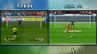 Wii Fifa 09 vs Fifa 10 [Original] HD