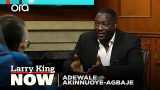Adewale Akinnuoye-Agbaje recalls being farmed out to UK family at six weeks and his film Farming