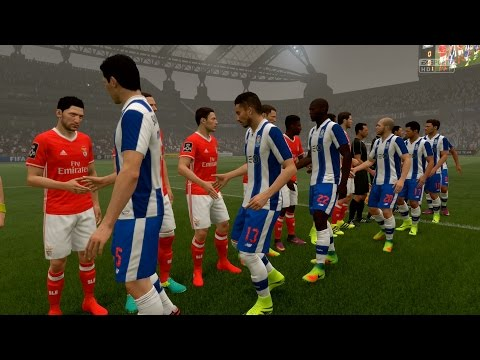 FIFA 17   FC Porto vs S.L. Benfica - Full Gameplay (PS4/Xbox One)