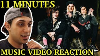 Yungblud & Halsey ft. Travis Barker - 11 Minutes (Music Video) | REACTION + ANALYSIS