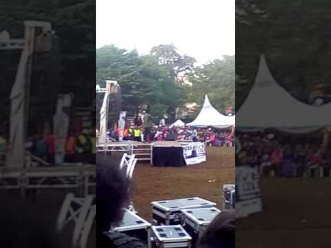 MCA Tricky at The University of Embu Cultural festival