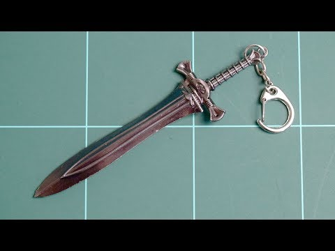 Warcraft Weapon Metal Key Chain V05