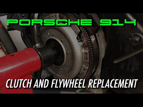 Porsche 914 – How to Replace the Clutch and Flywheel