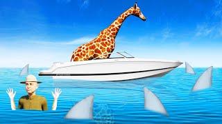 The GIRAFFE Stole My BOAT! (Zookeeper Simulator)