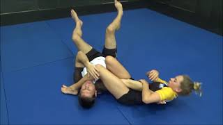 Harriet Slym Armbar Variations for JiuJitsu