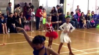 18th SGDF Singapore National Dancesport Champions Juvenile  Solo Girls Cha Cha semifinal- 9/1/16