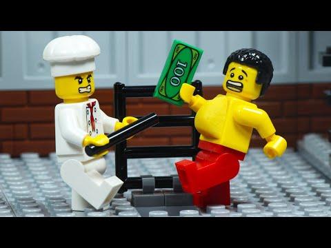 LEGO Fat Man Food Robbery Fail