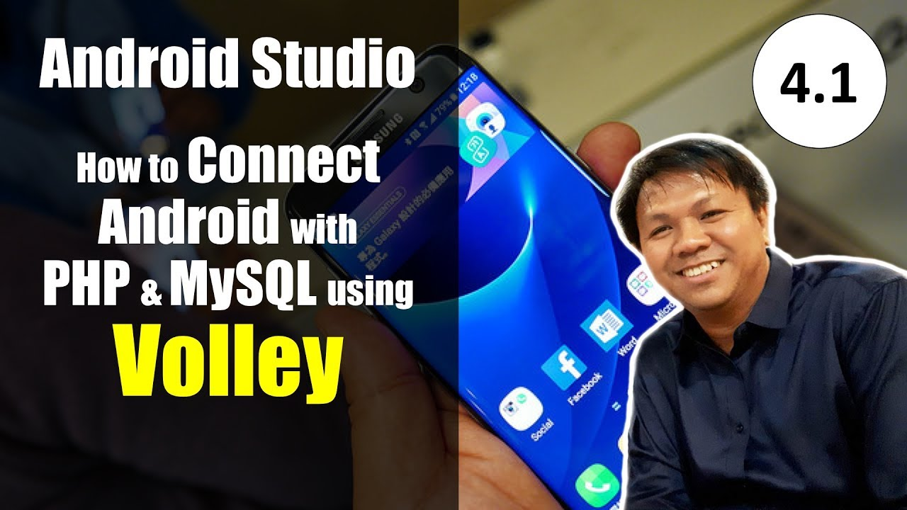 Android Volley Tutorial (Part 4 1) - How to Upload Multiple