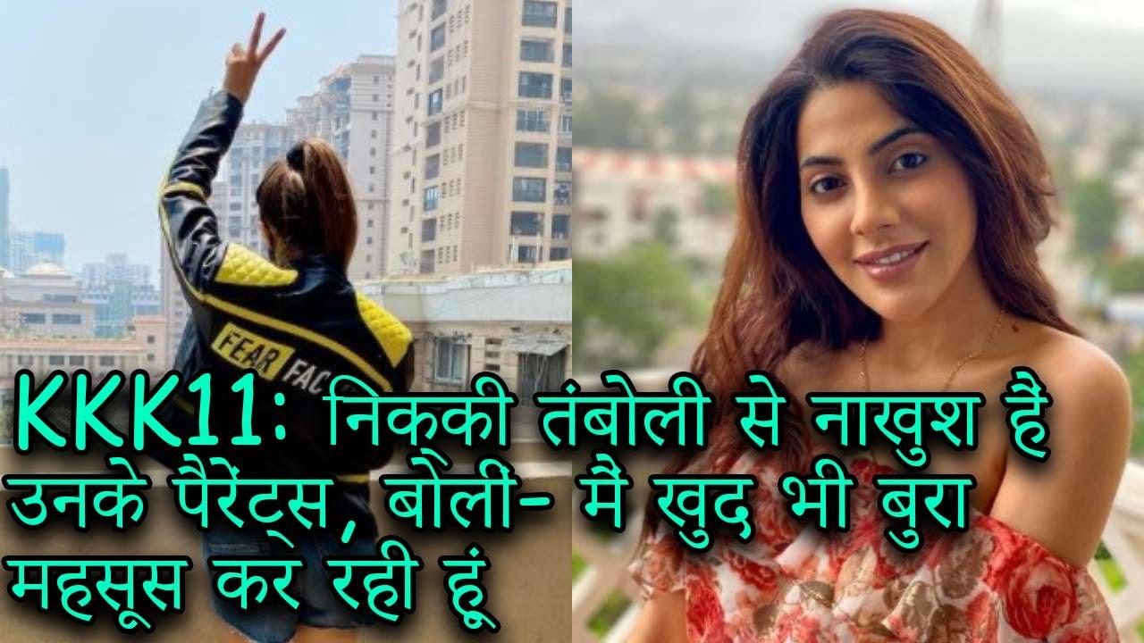 Download S465 Khatron ke Khiladi 11: Nikki Tamboli hui eliminate - Nikki ke parents huye dukhi