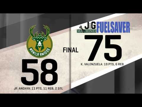 Manila Amigos vs. Fuel Saver | Game Highlights | October 8, 2016