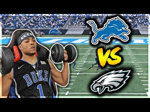 PLAYOFFS! THESE LIONS HUNGRY! Divisional Round | Madden 18 Franchise Mode