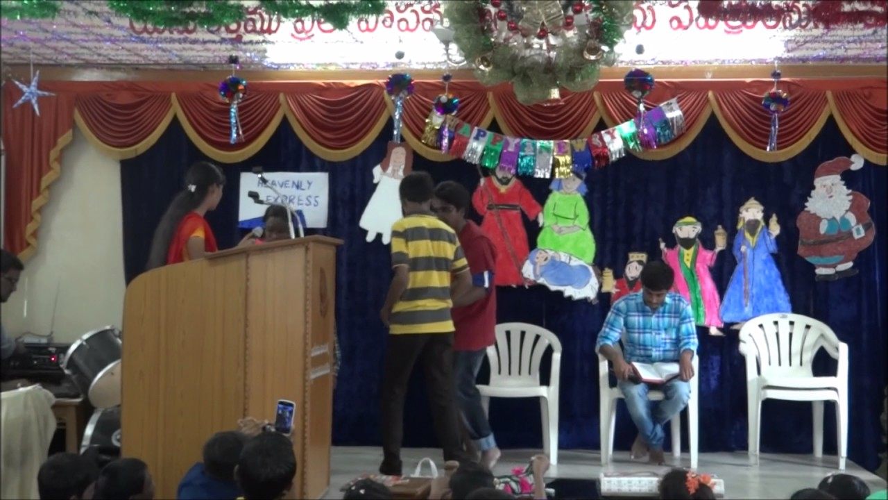 Excellent Telugu Skit / Heavenly Express Skit / Special Christian Skit /