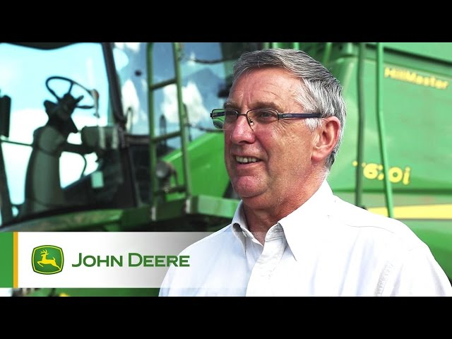 John Deere T670i Combine Testimonial Video - David Wincup, Ripon
