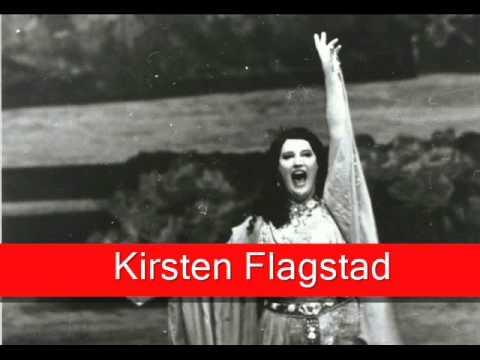 Kirsten Flagstad: Wagner - Tannhäuser, 'Dich, teure Halle'