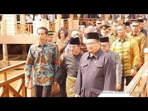Ini Yang Bikin Jokowi Kagum Saat Kunjungi Museum Brunei