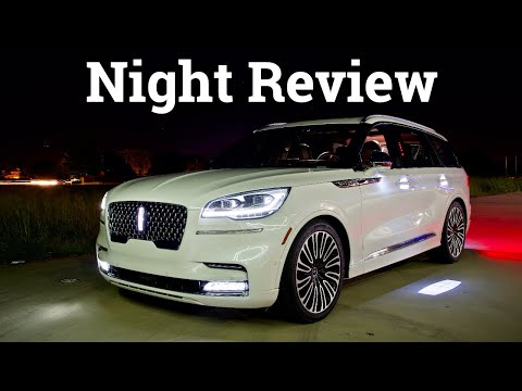 2020 Lincoln Aviator Black Label Luxury Night Review & Drive