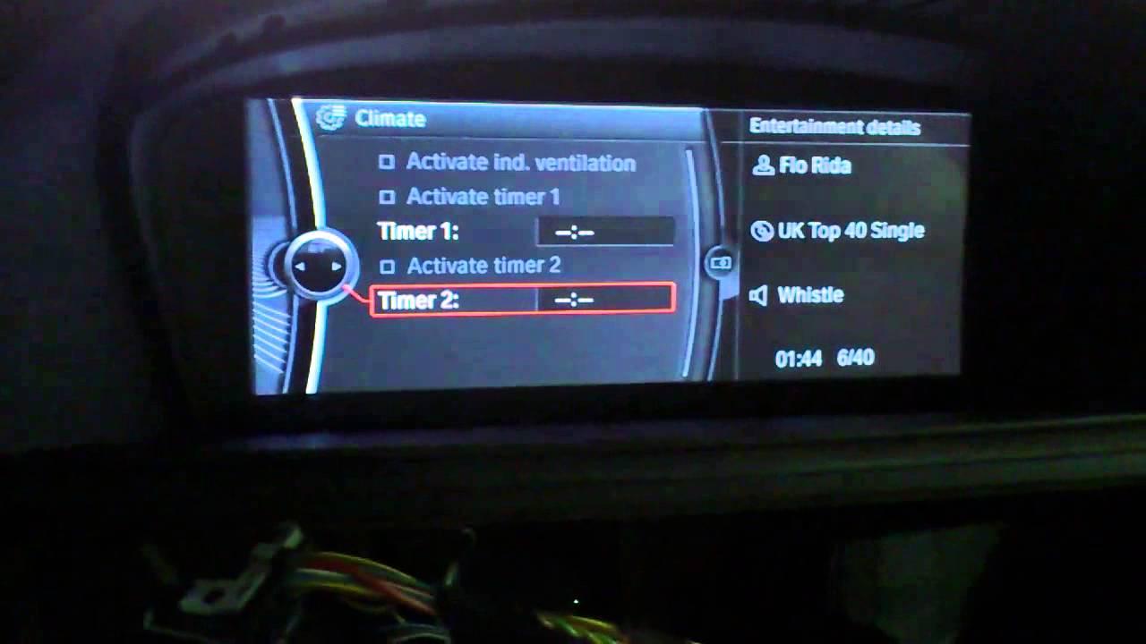 BMW CIC Installation into non-idrive E92 - YouTube