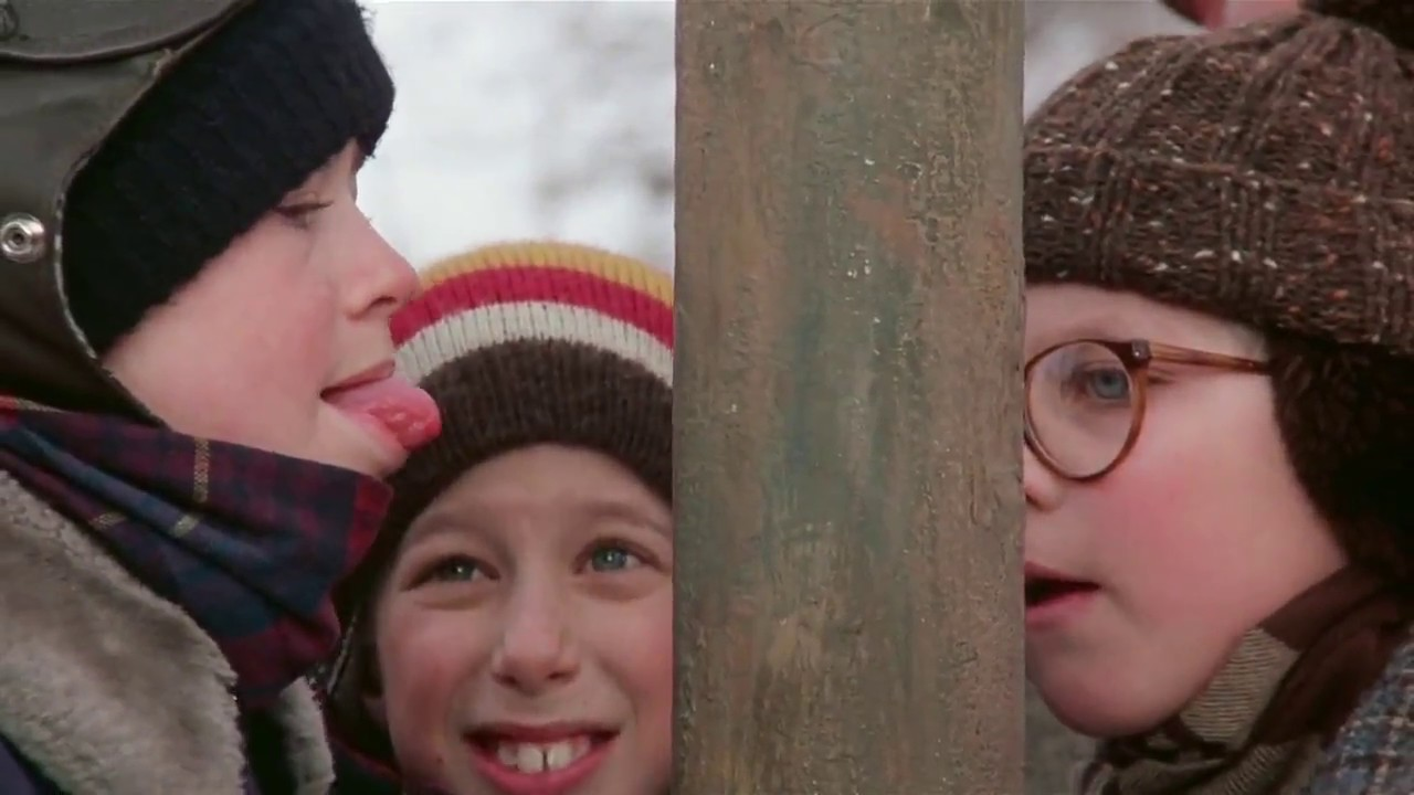 A Christmas Story - Tongue Stuck - YouTube
