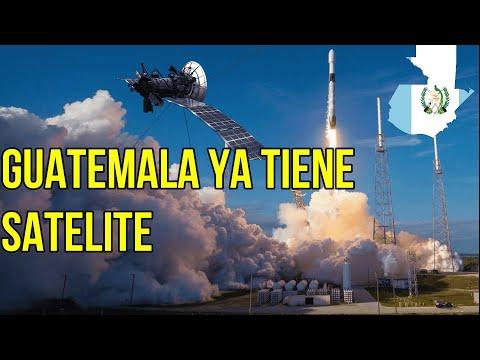 Primer satélite de Guatemala Quetzal 1.