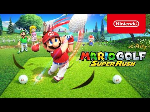 Mario Golf: Super Rush arrive le 25 juin sur Nintendo Switch !