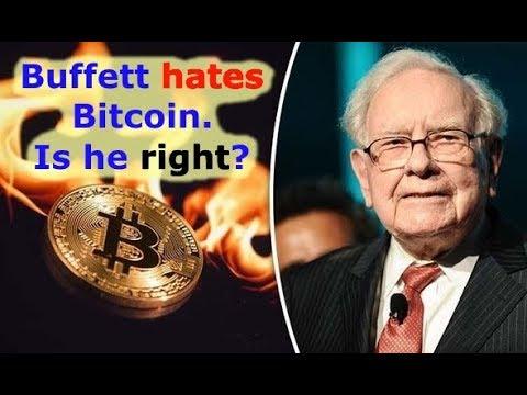 Warren buffet says cryptocurrencies