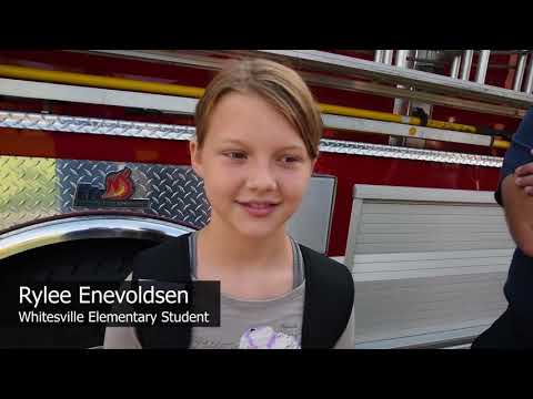 Fire department honors Whitesville Elementary student's 'selfless act'