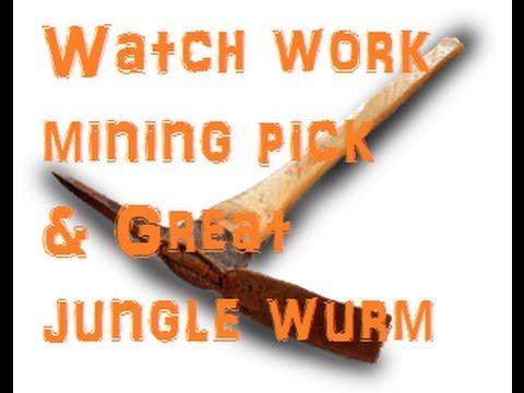 Watchwork Mining Pick & Great Jungle Wurm 3 Pack