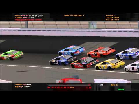 CFG NASCAR Racing 2003 Sim Series Season 1 Race 3 - South Point Casino 100