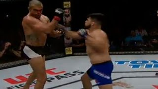 kelvin gastelum vs vitor belfort highlights ufc fight night 106 simulacion ps4