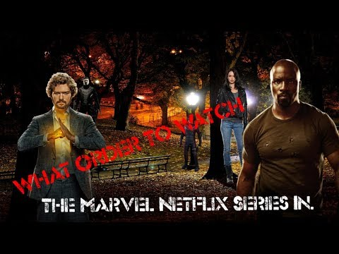 MARVEL NETFLIX S IN CHRONOLOGICAL ORDER DAREDEVIL S1  LUKE CAGE S2