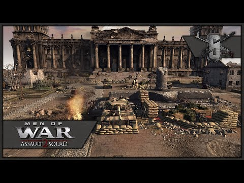 Final Charge on Berlin Reichstag - MoW:AS2 - FoW USSR Campaign #7