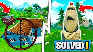 Fortnite The *END* of SALTY SPRINGS! | Stone Heads SOLVED! ( Season 5 Story )