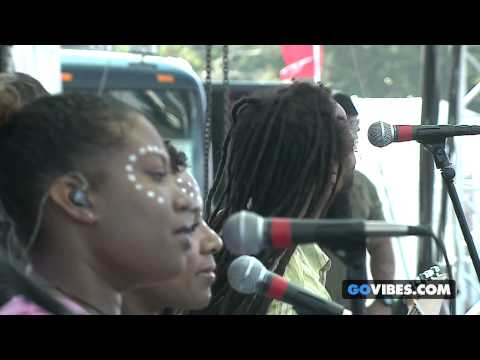 """Ziggy Marley performs """"I Get Up"""" at Gathering of the Vibes Music Festival 2014"""