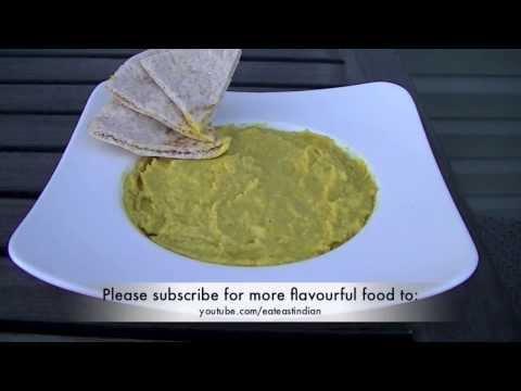 Masala hummus Recipe (Chickpea Dip)
