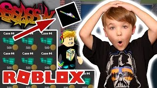 MAKING UNICORN KNIVE & OPENING 11 NEW CASES #4 ! in ROBLOX ASSASSIN