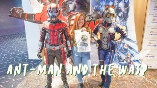 Ant-Man and the Wasp Block Screening with Piip PH | Grachi