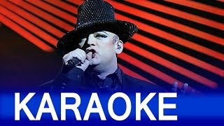 Culture Club –  Karma Chameleon Lyrics  Instrumental Karaoke