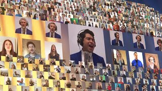 800 musicians from 55 countries combine to create a stunning virtual video - Nearer, My God, to Thee