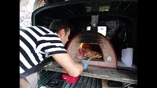 "Italian Street Food: Artisan Wood Oven Piadina & Pizza by ""TukTuk Bakehouse"", London."