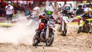 Corre Motocross a los 8 años, Chile