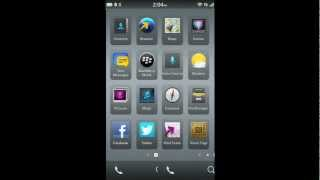 How to add email, contacts, calendar and social networking accounts on a BlackBerry 10 smartphone