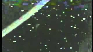 Ufo activity recorded in outer space