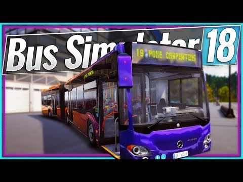 Bus Simulator 18 | BENDY BUS (#7)